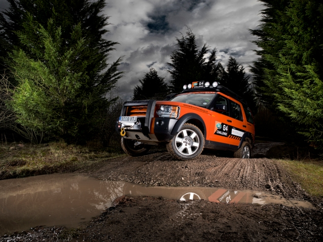 Land Rover Tim Wallace Photography
